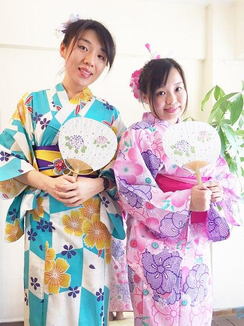 Fukuoka Kimono Dress Up 20170721_kd2
