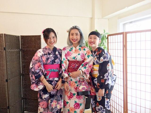 Fukuoka Kimono Dress Up 20170724_kd1