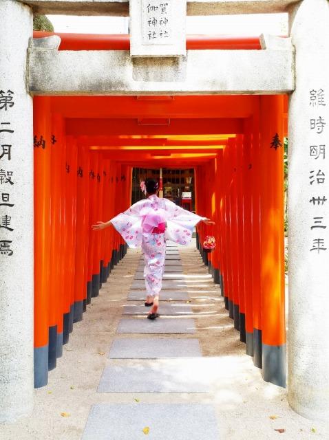 Fukuoka Kimono Dress Up 20170824_kd