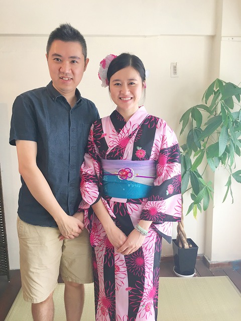 Fukuoka Kimono Dress Up 20170925_kd