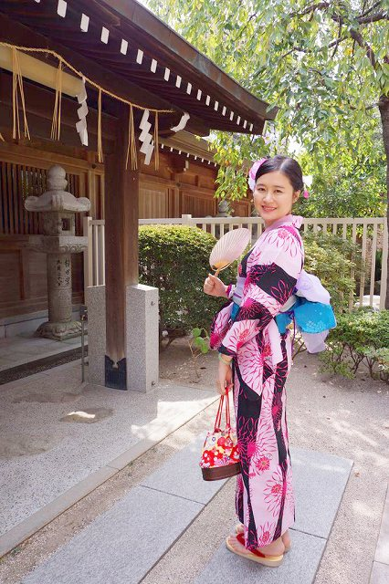 Fukuoka Kimono Dress Up 20170925_kd(2)
