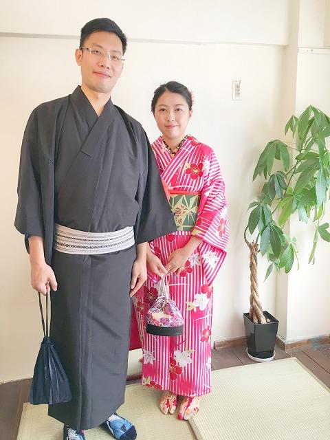 Fukuoka Kimono Dress Up 20171005_kd