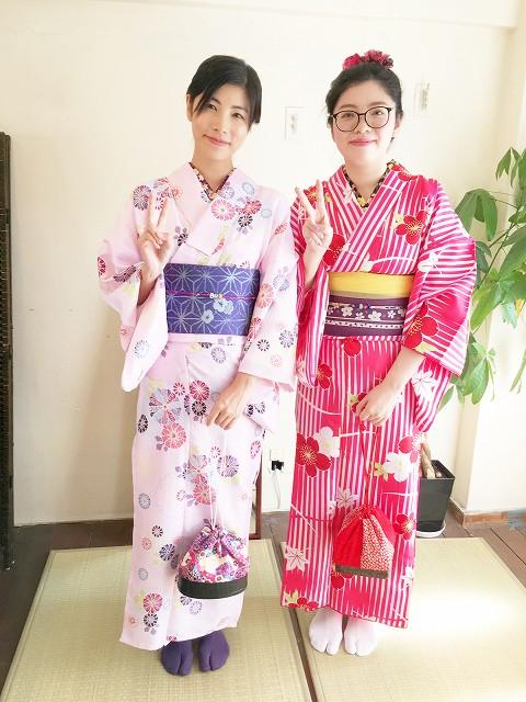 Fukuoka Kimono Dress Up 20171009_kd2