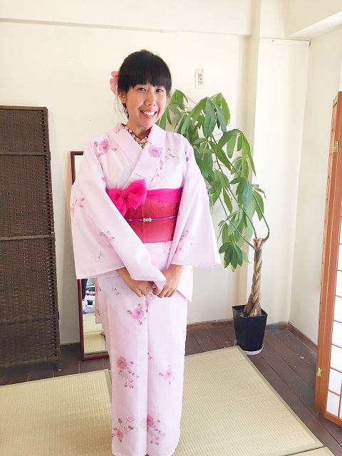 Fukuoka Kimono Dress Up 20171031_kd