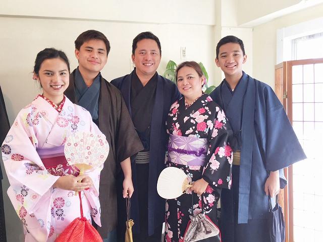 Fukuoka Kimono Dress Up 20171031_kd2