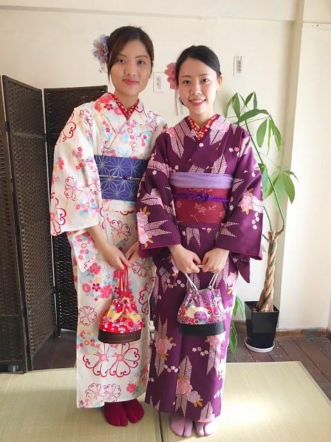 Fukuoka Kimono Dress Up 20171112_kd