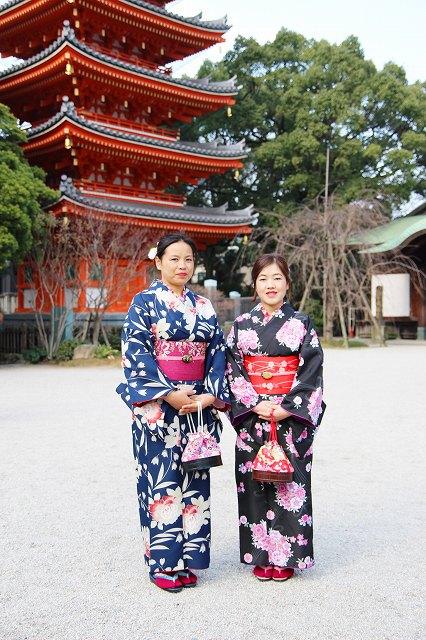 Fukuoka Kimono Dress Up 20180119_kd (3)