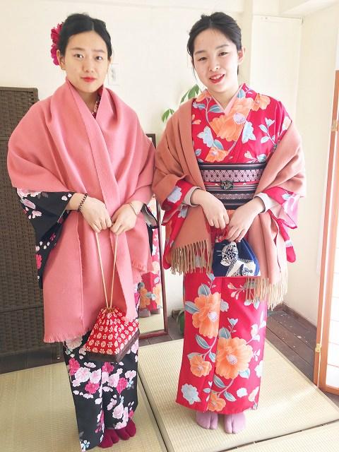 Fukuoka Kimono Dress Up 20180226_kd