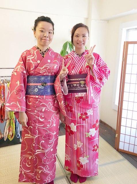 Fukuoka Kimono Dress Up 20180511_kd