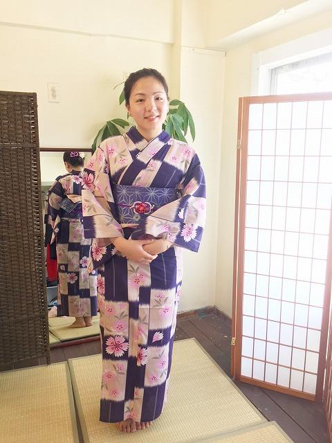 Fukuoka Kimono Dress Up 20180710_kd2